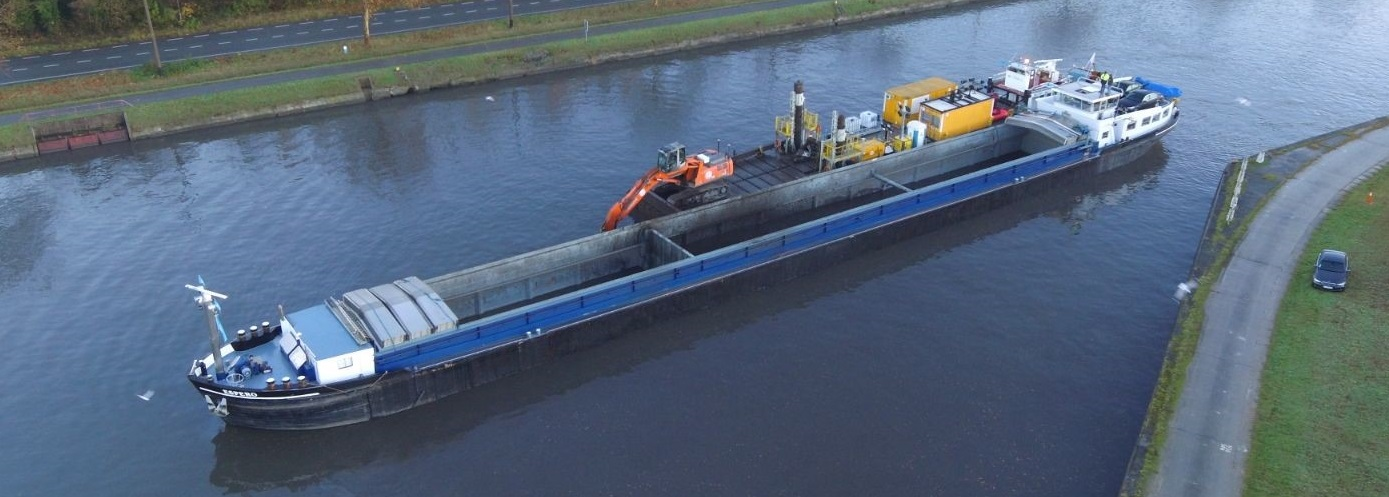Veelzijdig in transport over water!